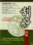 Illustration of Guasha (Scrape) Therapy, English-Chinese