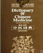 eBook: Dictionary of Chinese Medicine, Chinese-English