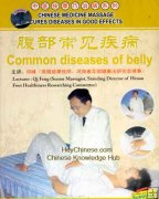 Common Diseases of Belly, Chinese Medicine Cure Disease DVD