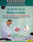 Strain of Ankle, Chinese Medicine Massage Cures Diseases DVD